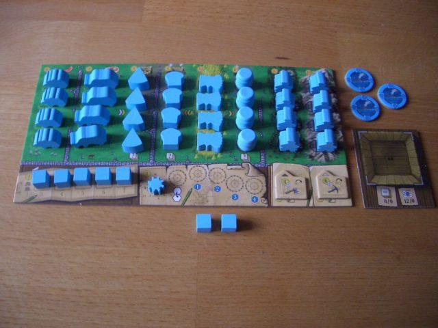 Clans of Caledonia Bild 2 Spielertableau