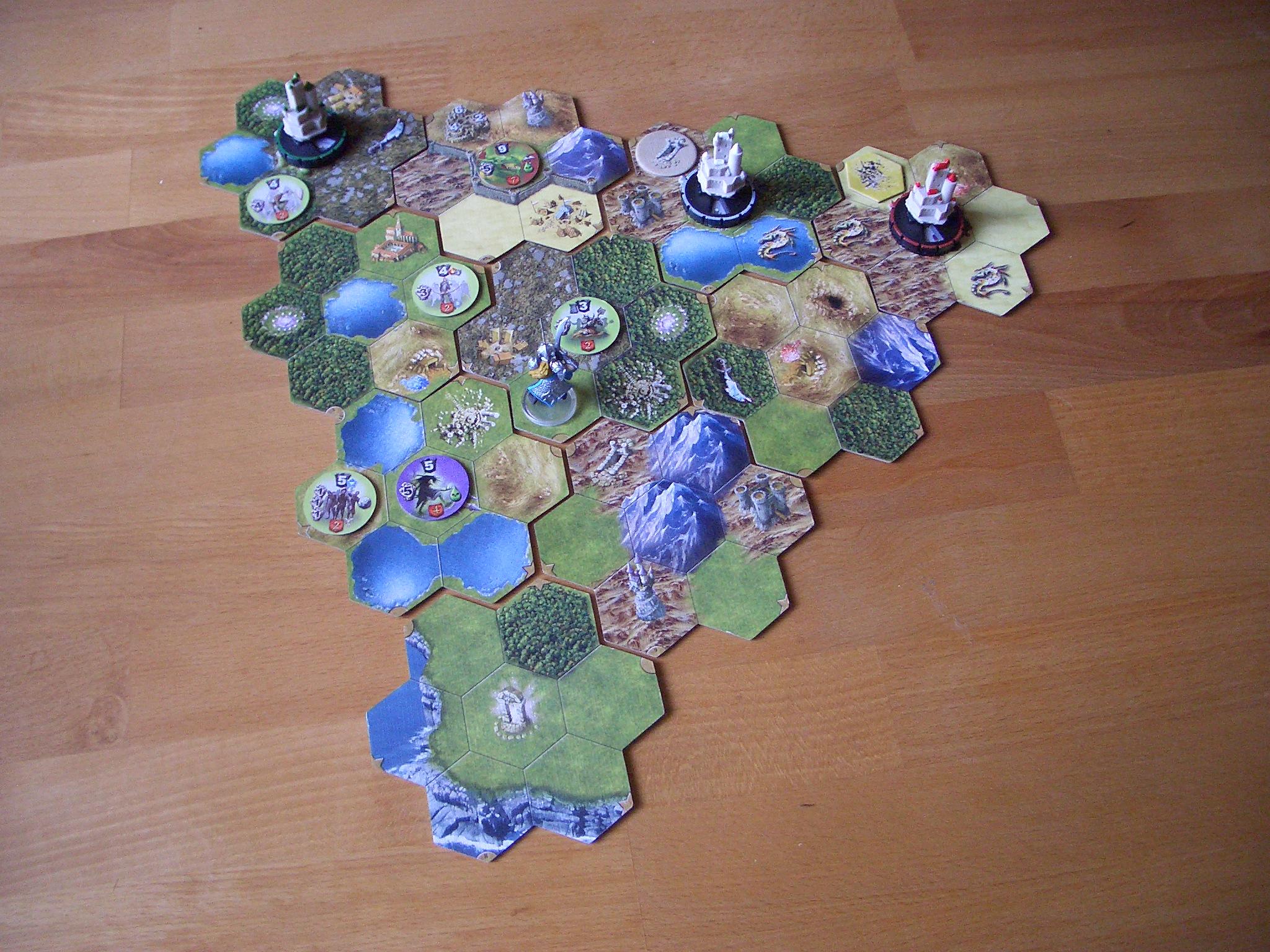 Mage Knight - Das Brettspiel Spielfeld