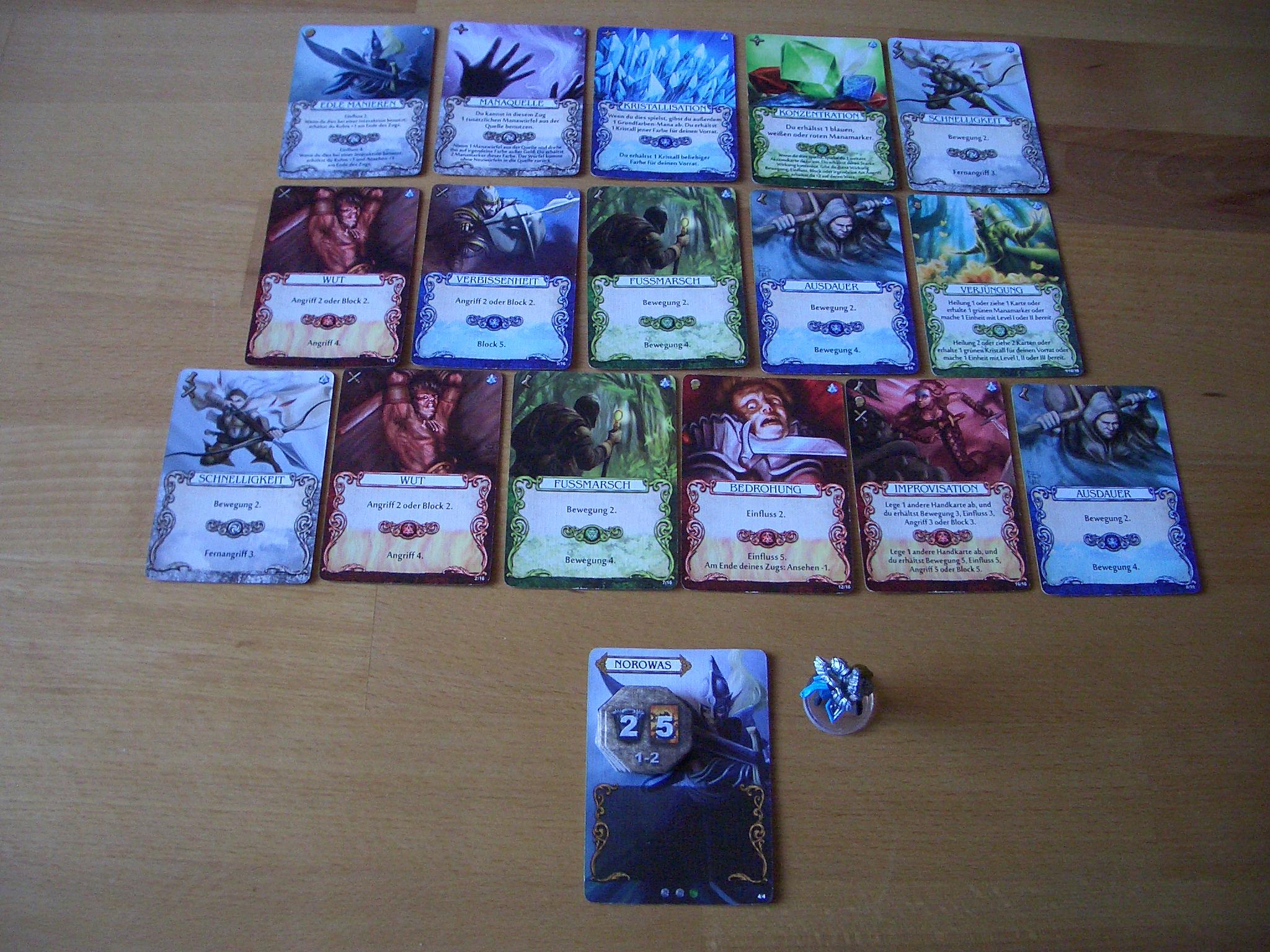 Mage Knight - Das Brettspiel Kartendeck