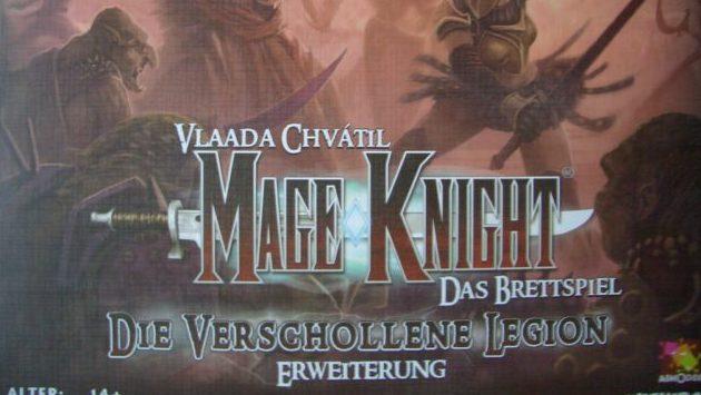 Mage Knight - Das Brettspiel Titel