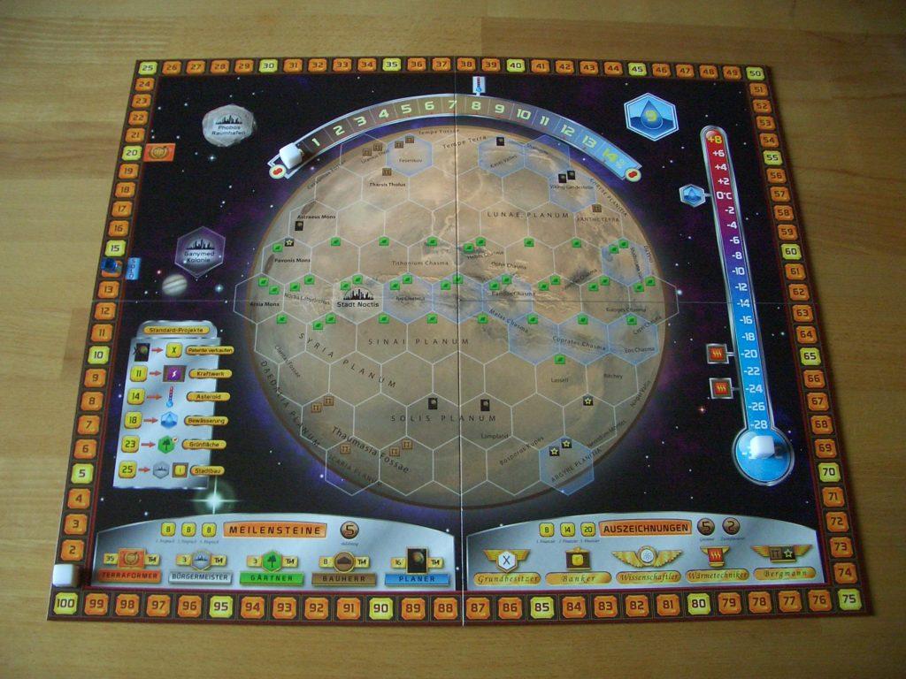 Terraforming Mars Spielbrett