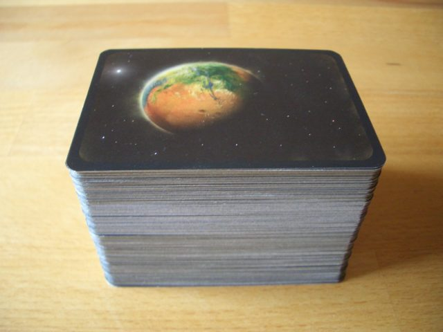Terraforming Mars Projektkarten