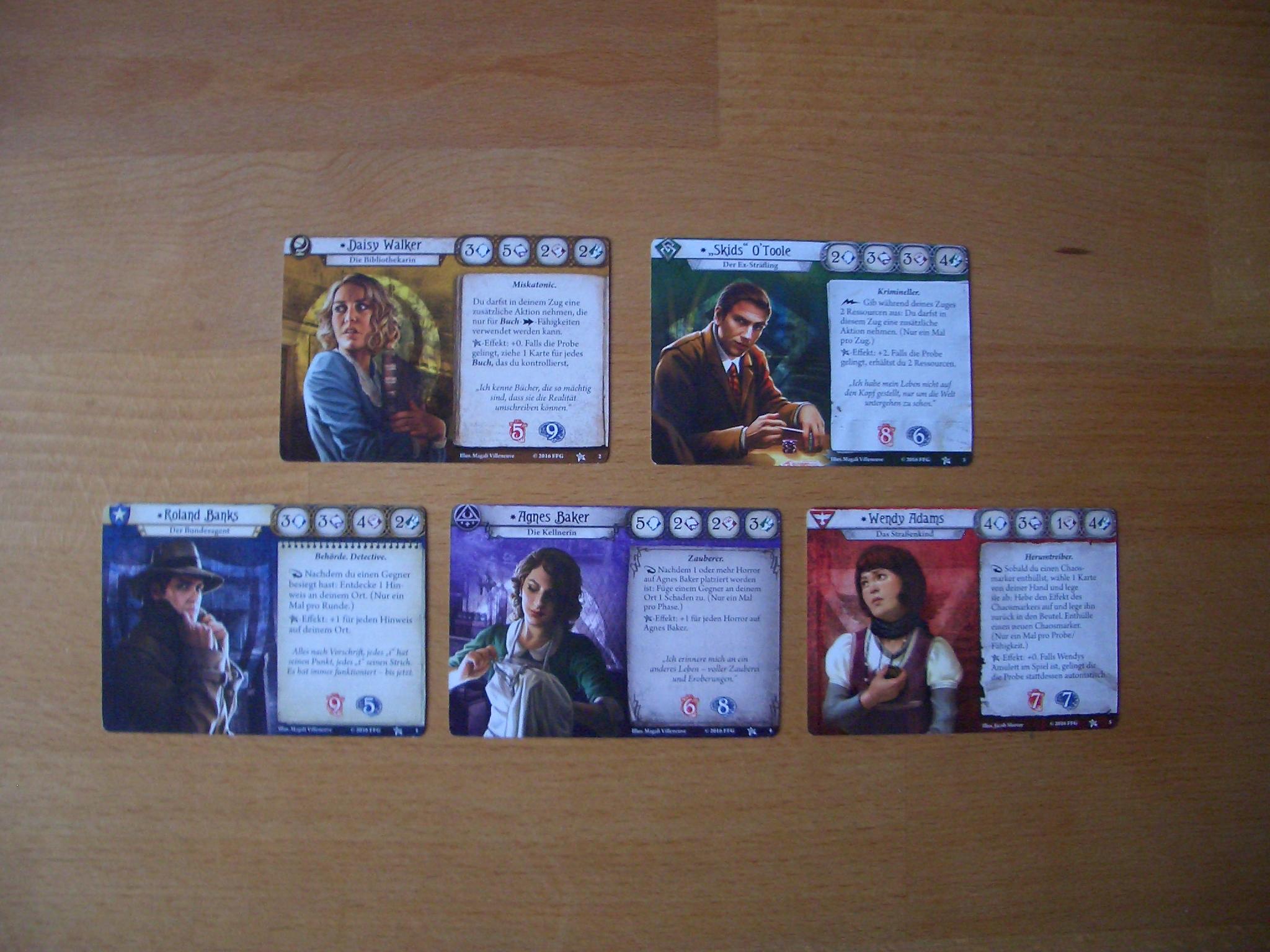 Arkham Horror - Das Kartenspiel Ermittler