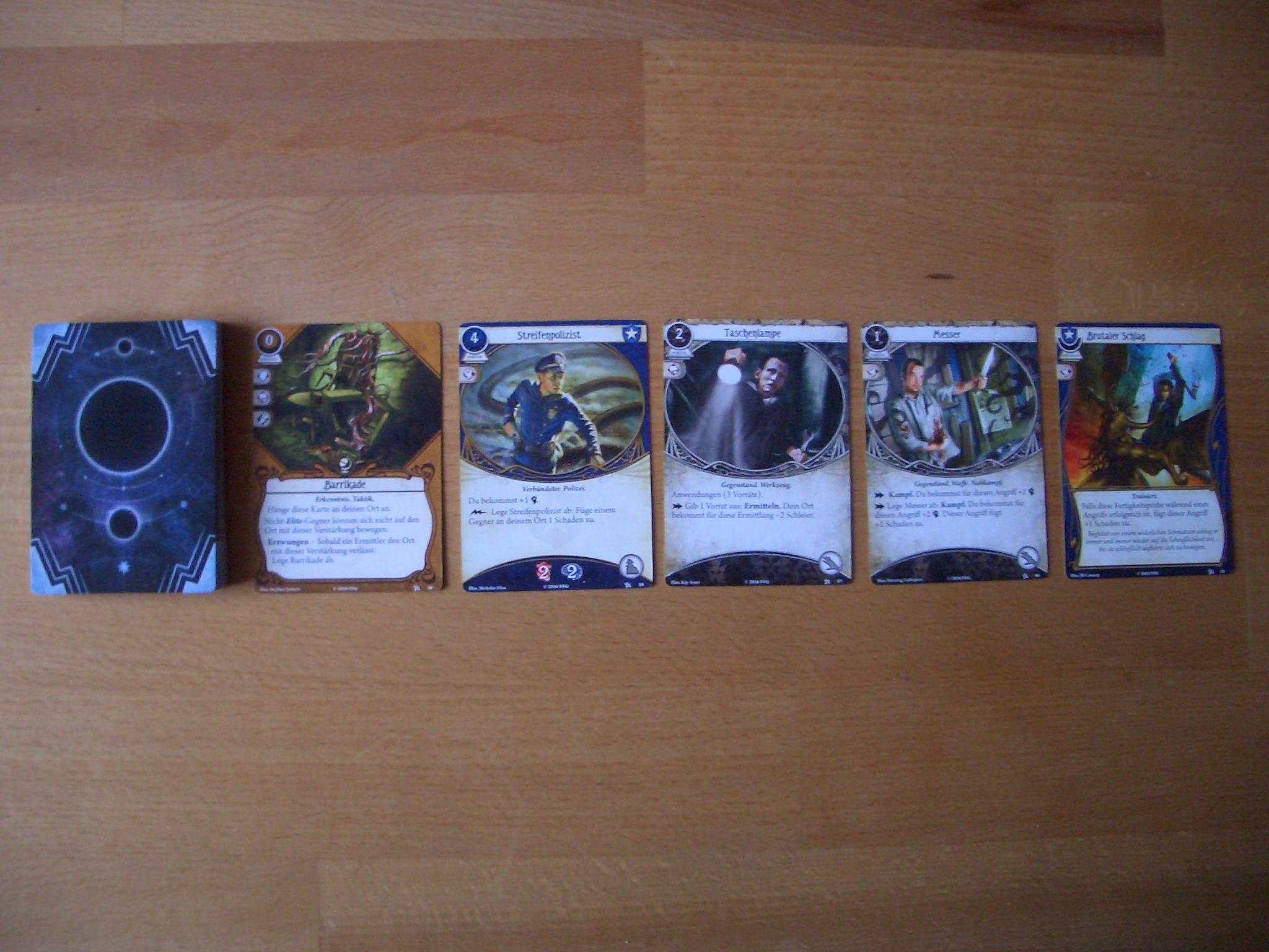 Arkham Horror - Das Kartenspiel Handkartendeck