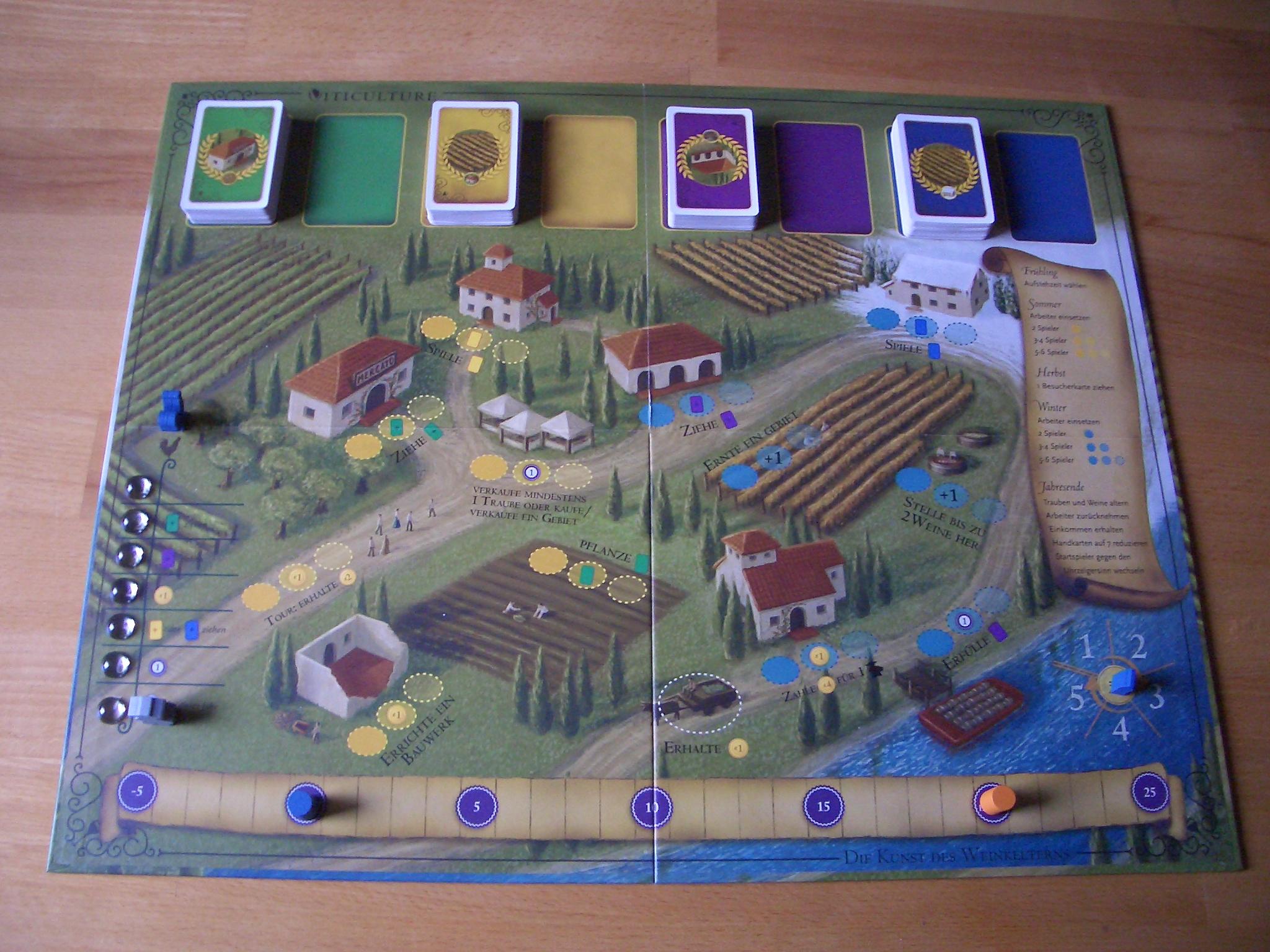 Viticulture (Essential Edition) Spielbrett