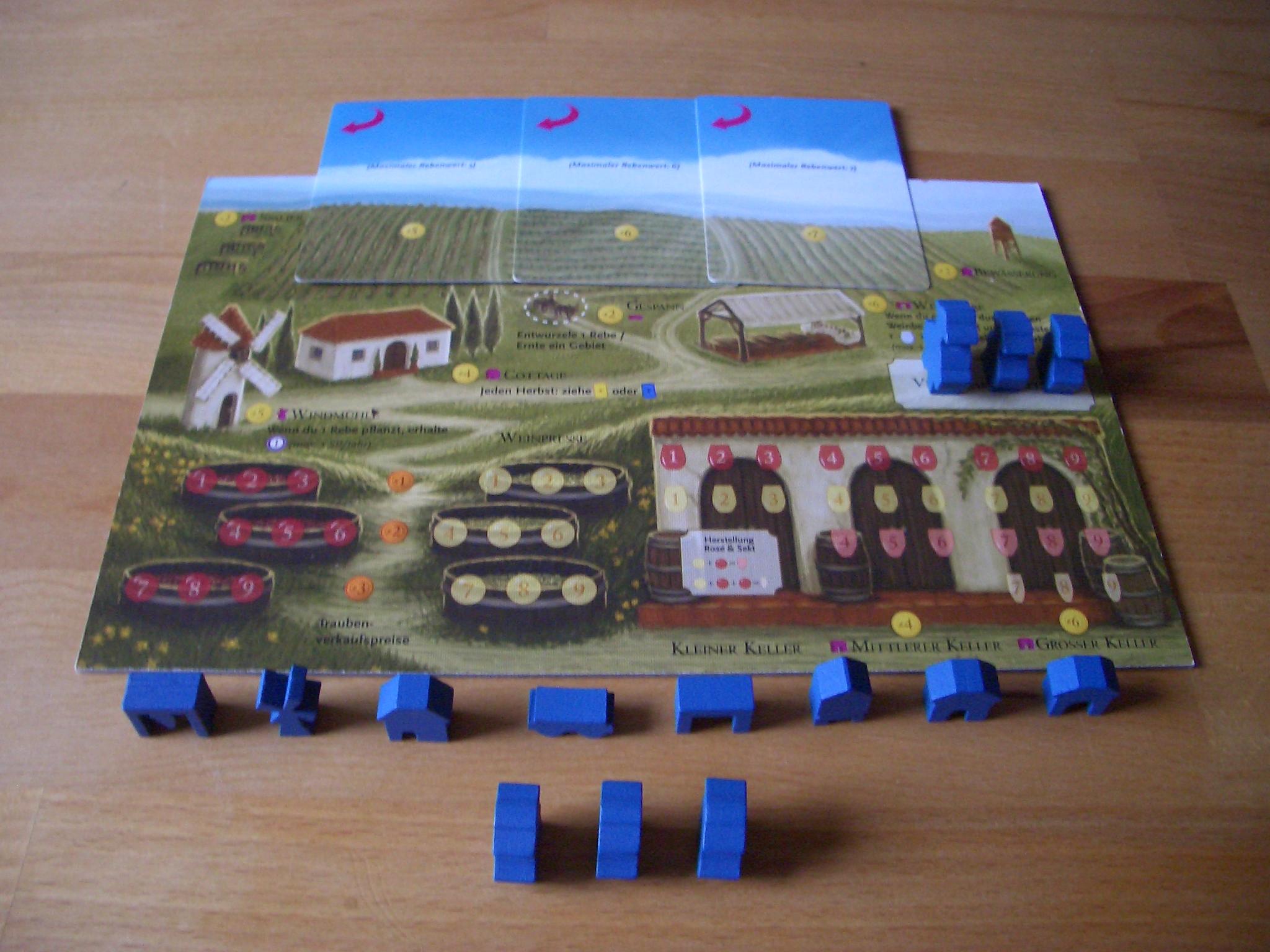 Viticulture (Essential Edition) Spielertableau