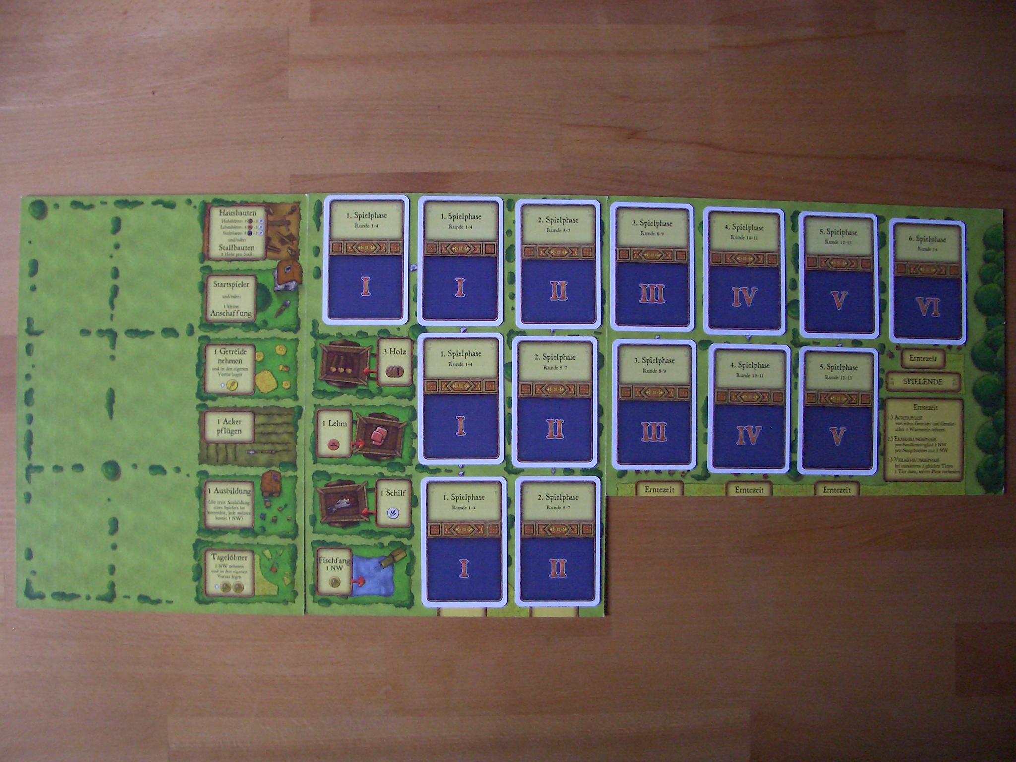 Agricola Spielplan