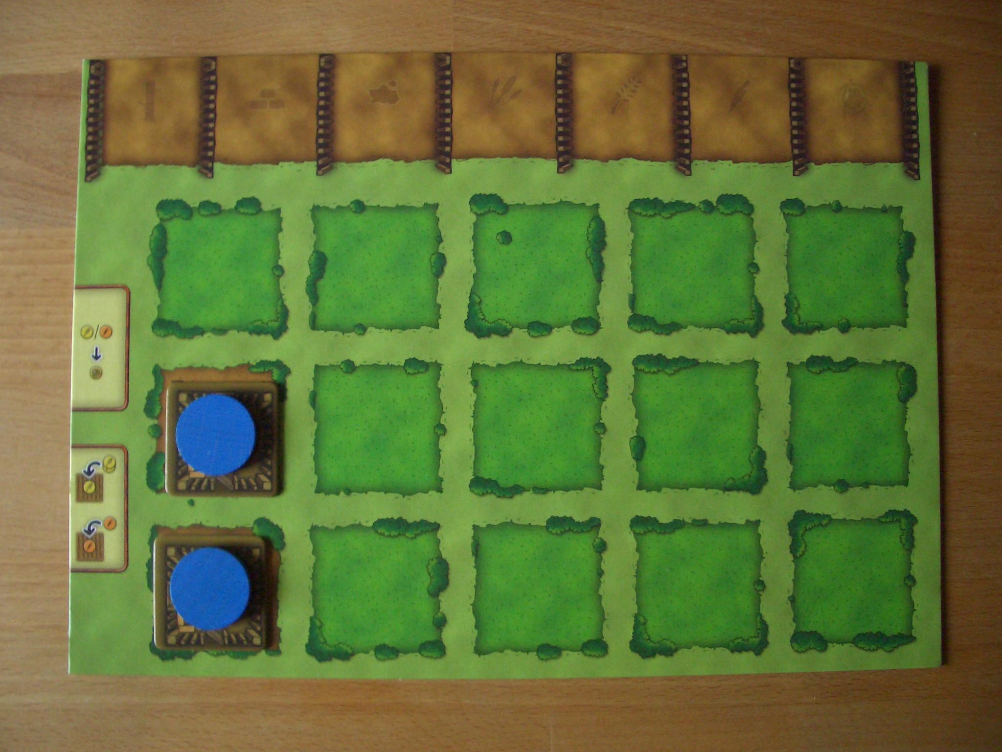 Agricola Start-Hofplan