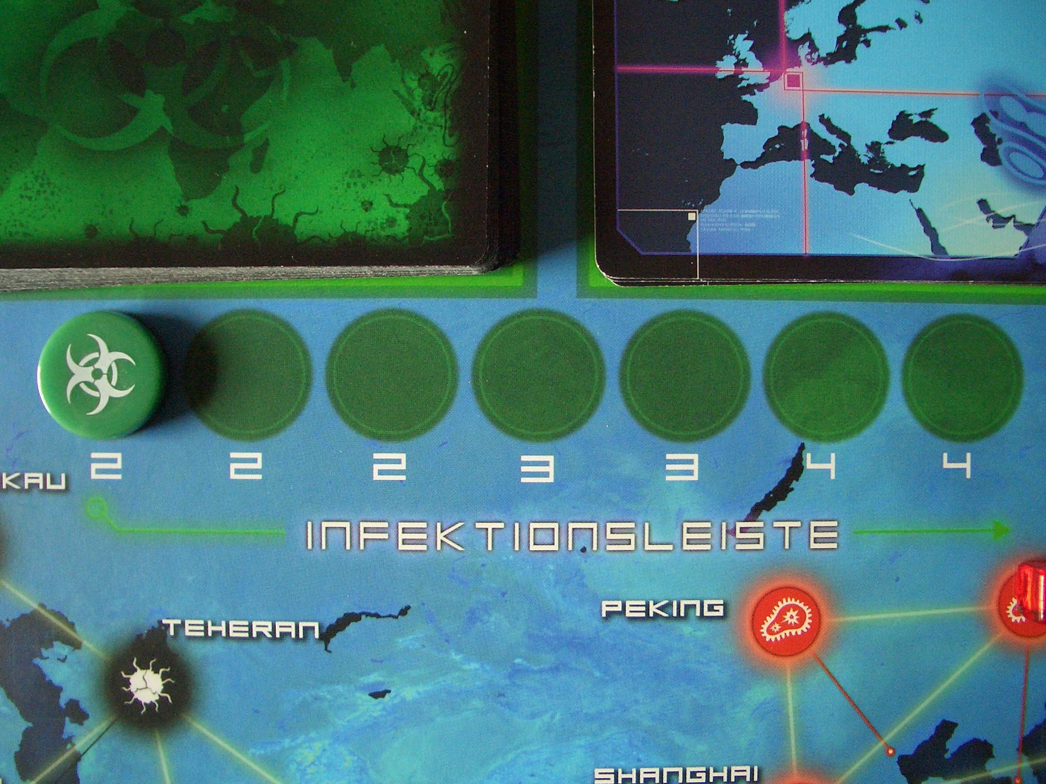 Pandemie Infektionsleiste