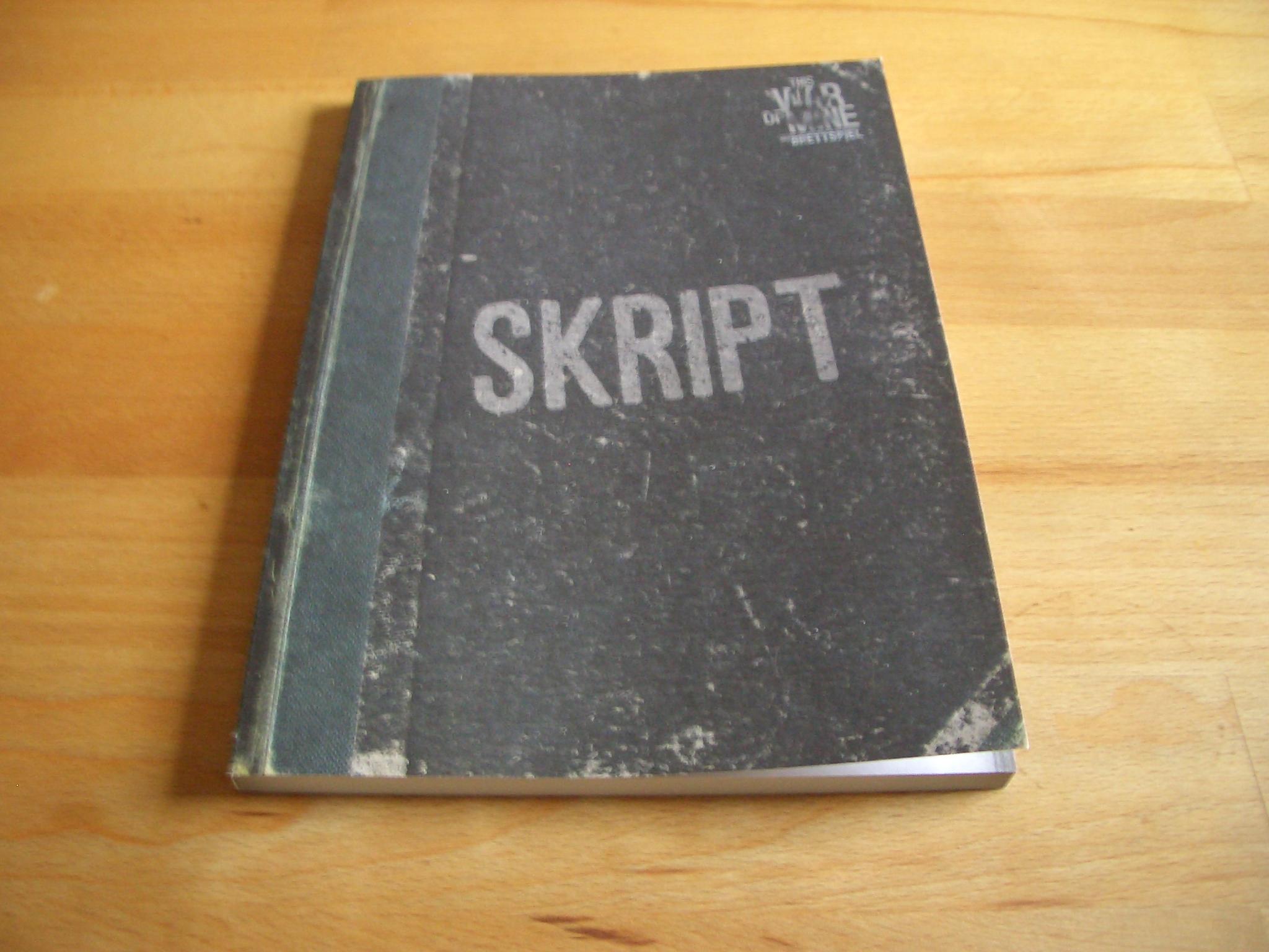This War Of Mine Skriptbuch
