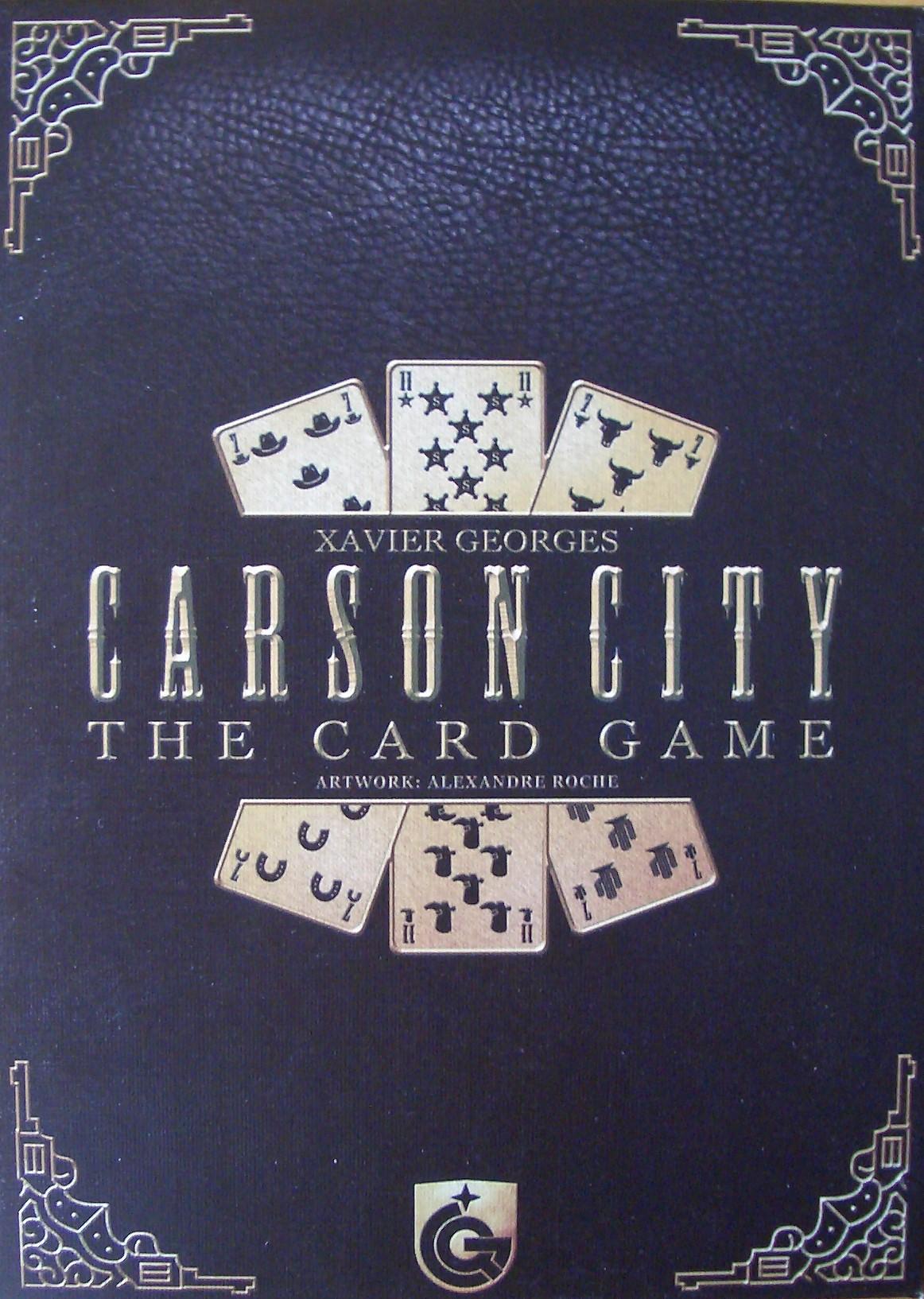 Foto Carson City - Das Kartenspiel